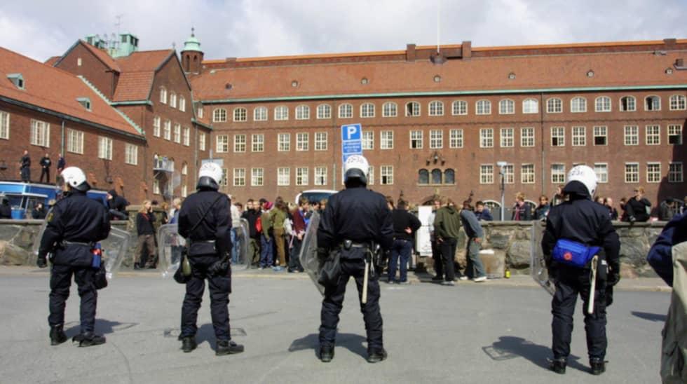 Hvitfeldska gymnasiet. Foto: Åke Thim