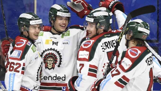 Men Frölunda vann. Foto: Mikael Fritzon/Tt
