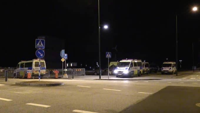 Den nya lagen sattes i kraft på natten mot måndag Foto: Peo Möller