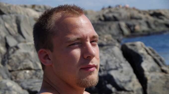 Anton, 27, hittades död vid en badplats, i ett ensligt skogsparti i Sisjön. Foto: Privat