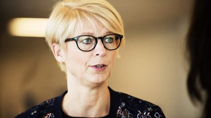 Elisabeth Svantesson (M). Foto: Anna-Karin Nilsson