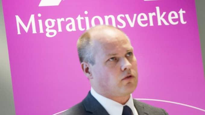 Migrationsminister Morgan Johansson säger att huvudsyftet med kontrollerna är att få ner antalet asylsökande. Foto: Christian Örnberg