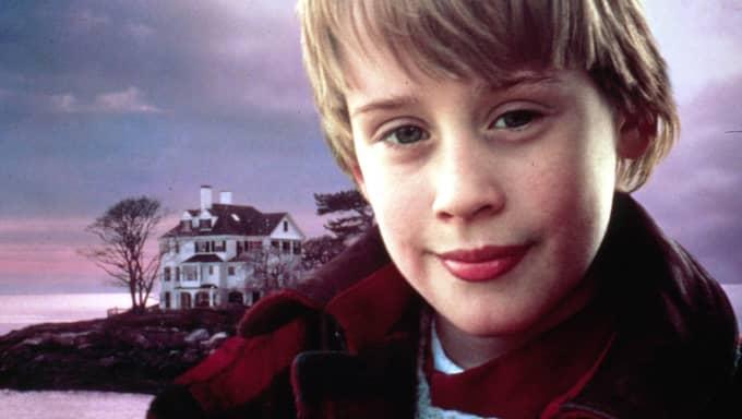 """Han blev superstjärna redan som barn efter rollen som Kevin McCallister i filmerna """"Ensam hemma"""" på 90-talet. Foto: Foto: 20th Century Fox/Tv4 / FILMBOLAG"""