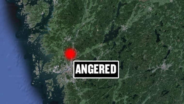 Det var i Angered den tragiska olyckan skedde.