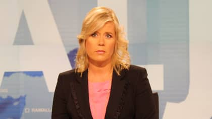 Svenska nyhetsankaret Linda Nyberg.