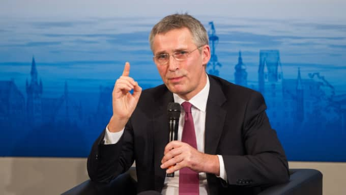 Natos generalsekreterare Jens Stoltenberg. Foto: Lennart Preiss