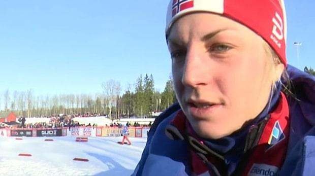 Astrid Jacobsen petades från pallen - nu avslöjar hon varför