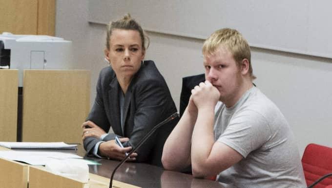 19-årige Kristoffer Andersson åtalas, misstänkt för mordet på Ida Johansson, 21, i Upplands Väsby. Foto: Olle Sporrong