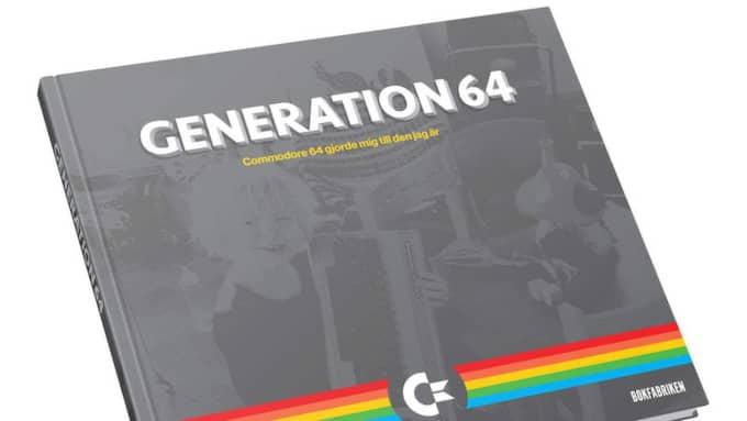 "Boken ""Generation 64"" av Jimmy Wilhelmsson."