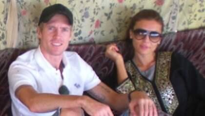 Chippen och Oksana har gift sig i Las Vegas. Foto: Privat