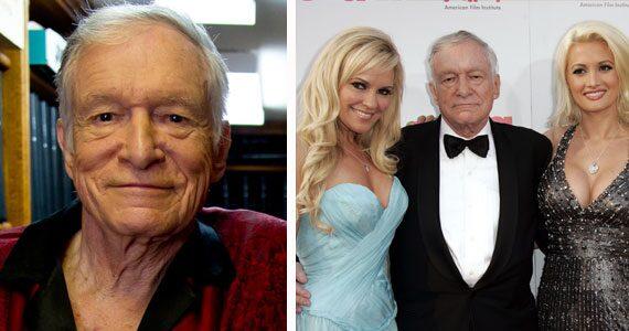 Playboygrundaren Hugh Hefner uppges vara svårt sjuk