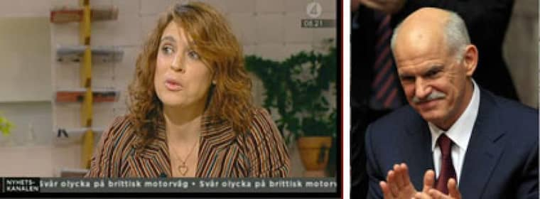 Emilia Nyblom är Greklands premiärministers okönda svenska syster.