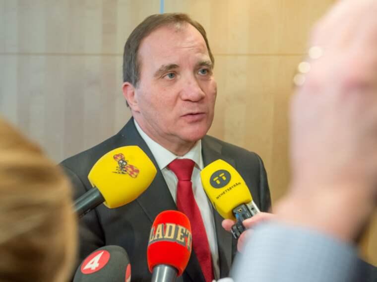 Efter att ha tigit i flera dagar ska nu statsminister Stefan Löfven kommentera bostadsskandalen i kvällens debatt i SVT. Foto: Pelle T Nilsson