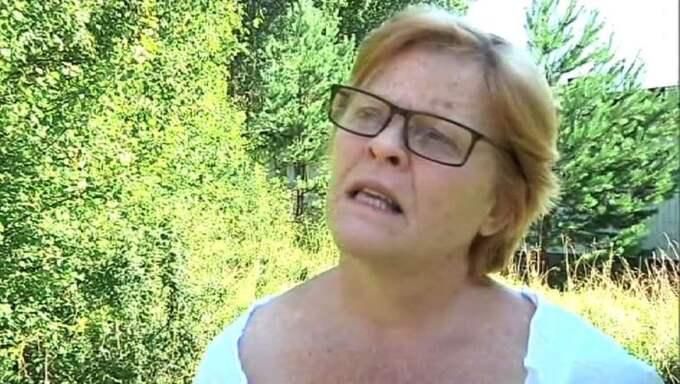 Madeleine Holtz, 62, känner sig skakig efter det misstänkta mordet. Foto: Max Sohl Stjernberg