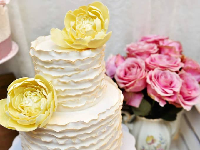Tårtan får inte glömmas bort! Foto: Christian Örnberg