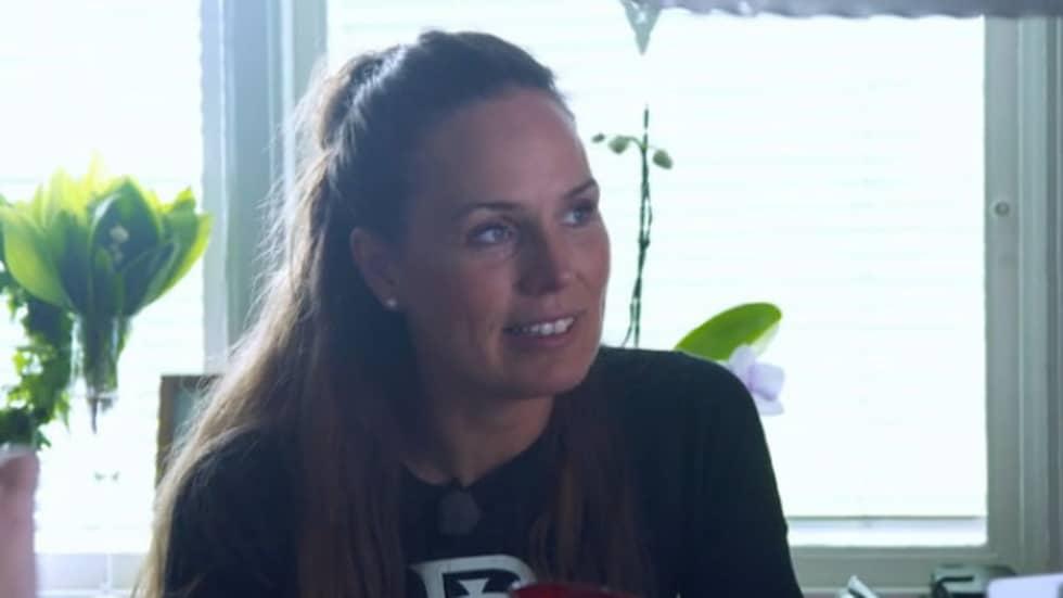 Sigrid Bergåkra säger att det nu finns tankar på att förlova sig.