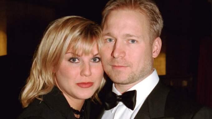 """Josefin Nilsson och regissören Hannes Holm blev ett par under inspelningen av """"Adam & Eva"""" 1997. Foto: Karin Törnblom / Ibl Bildbyrå"""