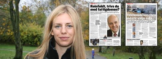 Under din tid vid makten, Fredrik Reinfeldt, har andelen svenskar som riskerar att hamna i fattigdom ökat från 9,5 till 12 procent i hela befolkningen.