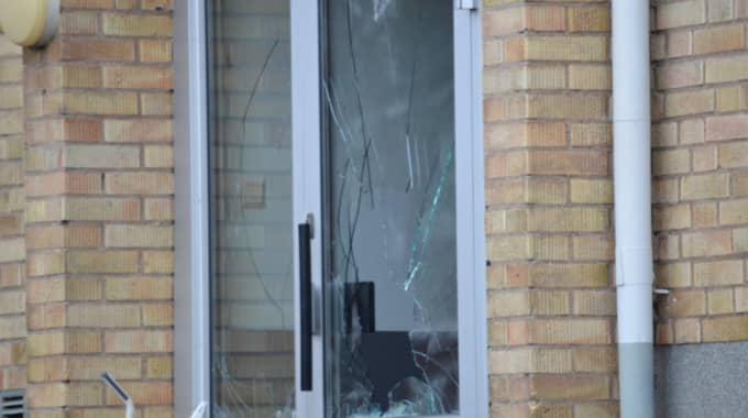 Ett stort bråk bröt ut på ett boende för ensamkommande flyktingbarn under natten. Personalen tvingades att låsa in sig under tumultet. Foto: Göran Johansson