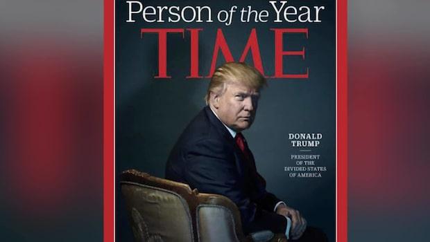 "Trump har utsetts till ""årets person"" i Time"