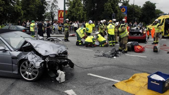 Olyckor med elbilar inblandade kräver ett särskilt säkerhetstänkande.  Foto: Niclas Tilosius