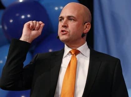 NÄRA - MEN INTE SÅ NÄRA. Fredrik Reinfeldt fick ingen majoritet i valet. Men det var inte bara 26 röster som avgjorde majoritetsfrågan. Foto: Bob Strong/REUTERS
