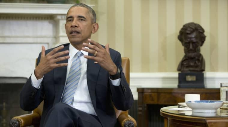 USA:s president Barack Obama bekräftar nu på Twitter att han kommer att resa till Kuba under mars månad. Foto: Carolyn Kaster