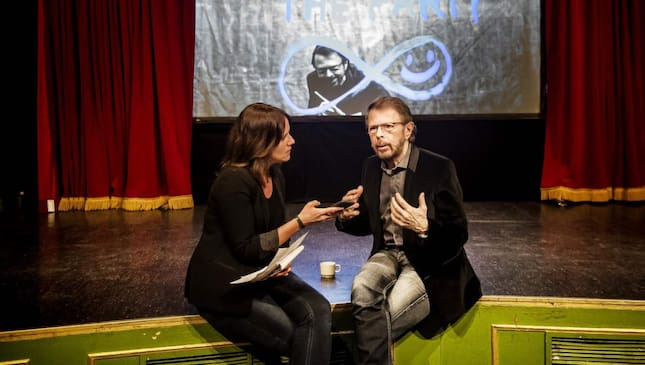 Anna Friberg möter Björn Ulvaeus