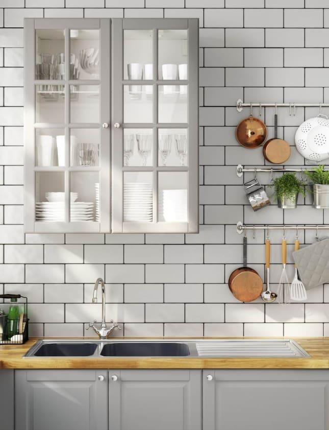 Lantligt Kok Gratt : Vitrin i grott Ikeas nya kok Metod finns oven i grott Det fina
