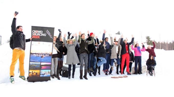 I Vuollerim kan man jubla över att vara med i världstoppen när det kommer till delningsekonomi. Foto: Johanna Granstrom Sundgren / Johanna Granstrom Sundgren