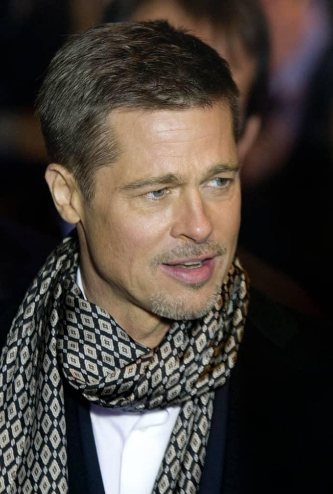 Brad Pitt. Foto: DIAZ/DYDPPA/REX/SHUTTERSTOCK / DIAZ/DYDPPA/REX/SHUTTERSTOCK REX FEATURES