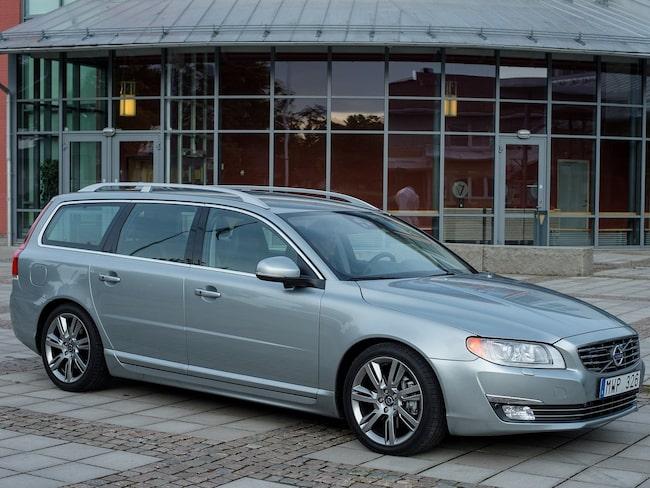 Volvo V70 är en av de allra vanligaste bilarna på annonssidor som Blocket.
