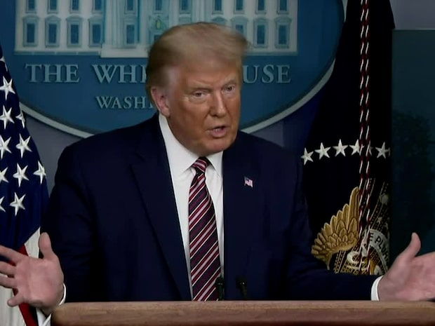 """Trumps svar efter avslöjandet: """"Fake news"""""""