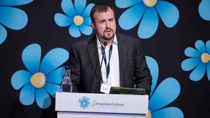 Magnus Olsson (SD), oppositionsråd i Malmö. Foto: SVEN LINDWALL