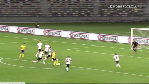 TV: Se målen från matchen mot Estland