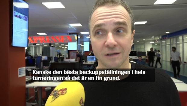 """Nyström: """"Sverige är absolut inte favoriter"""""""