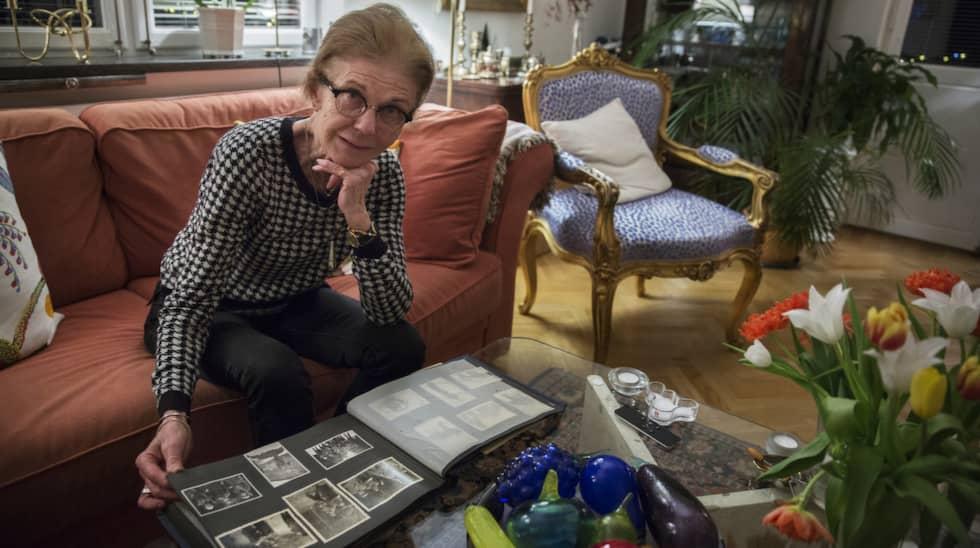 Nu har hon hittat sina släktingar i Sverige. Foto: Lisa Mattisson Exp / LISA MATTISSON