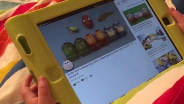 Varningen till föräldrar: Sexvideor på Youtube riktar sig till barn