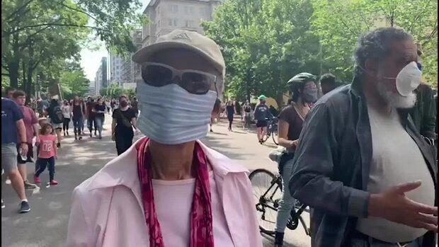 """Därför protesterar de i USA: """"Det är ett inbördeskrig"""""""