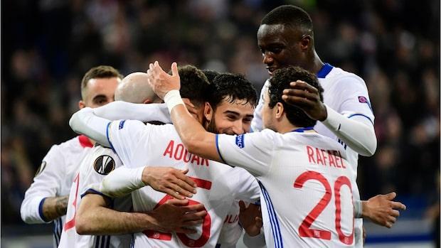 Största segrarna i Europa leagues slutspel
