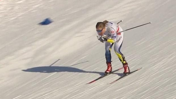 Hanna Falk krossade motståndet i Falun