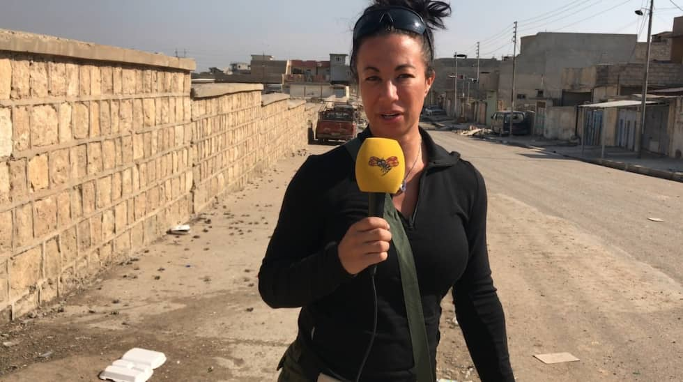 Magda Gad i Irak.