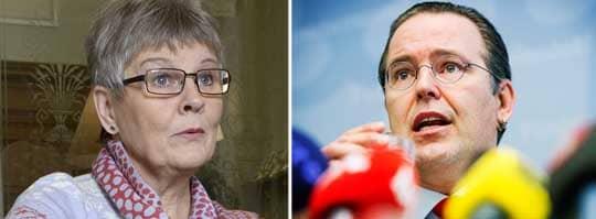 Anders Borg ger Maud Olofsson ansvaret för Vattenfall-köpet inför KU.