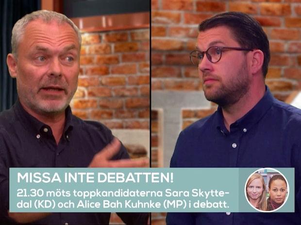 Se hela debatten mellan Jimmie Åkesson och Jan Björklund