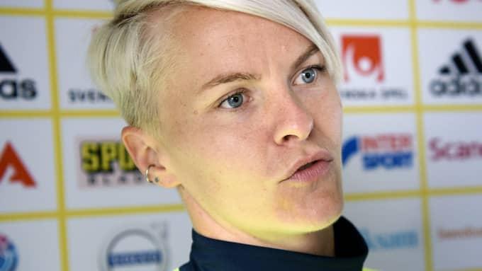 Nilla Fischer är en av landslagets mest rutinerade spelare, trots det lider hon av svår nervositet. Foto: CARL SANDIN / BILDBYRÅN