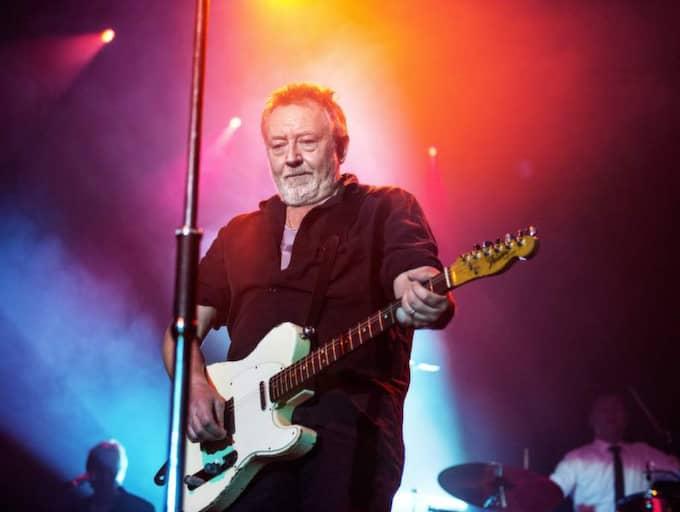 Ulf Lundell på scen på Berns. Foto: Emil Nordin