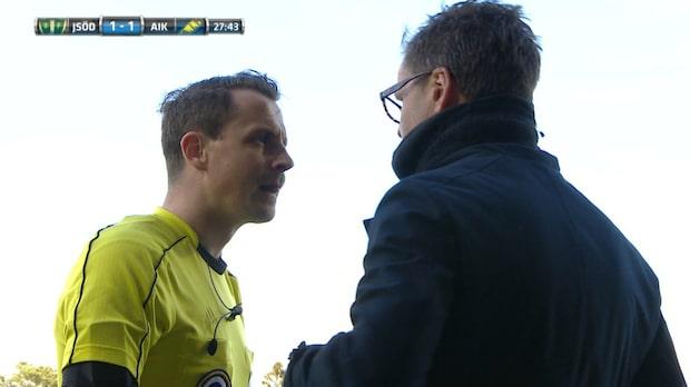 "Domaren till Norling: ""Visa lite respekt"""
