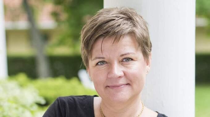 Pia Nyberg, 43, träffade Gaia utanför sin lokala matbutik. Foto: Erika Jägerbrink