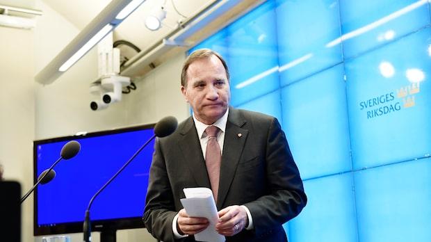 Löfven ger upp – Åkesson hoppas få chansen