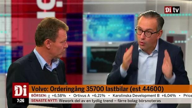 """Volvos Q3: """"Orderingången är klart sämre - men de håller lönsamheten stark"""""""